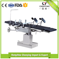 Hot new products for 2016 hospital equipment medical hydraulic electric operating table