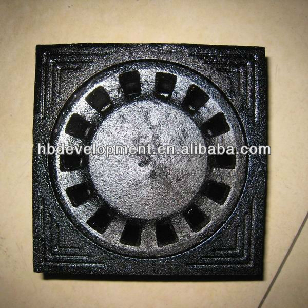 Grey Cast Iron Floor Drain