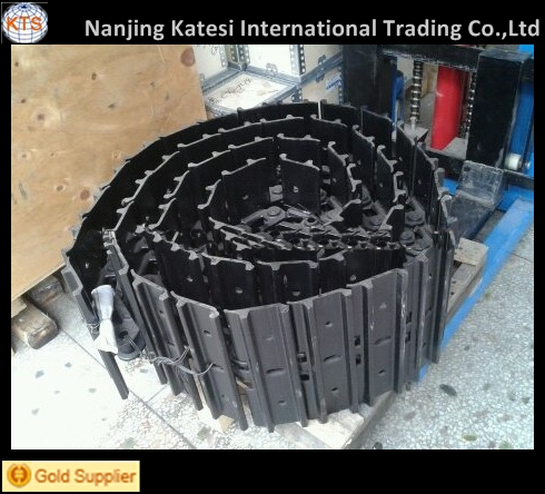 Komat.su/hitach i excavator spare parts lubricated track shoe assy/ mini excavator steel tracks