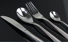 Elegant quality flatware for buffet airline cutlery