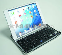 Bluetooth Wireless Aluminum Keyboard Case for ipad mini, 7.9 inch Tablet PC