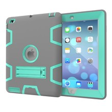 Dustproof Silicone Unbreakable Protective Case For iPad 2 3 4 Cover
