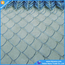 Hot dipped galvanized steel wire / chain link fence / low carbon iron wire mesh fence
