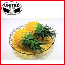 artificial fake plastic pineapple fruit for home decor