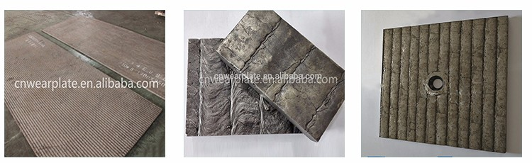 HRC 58-65 overlaying bi-metal wear resistant steel sheet clad wearable steel plate