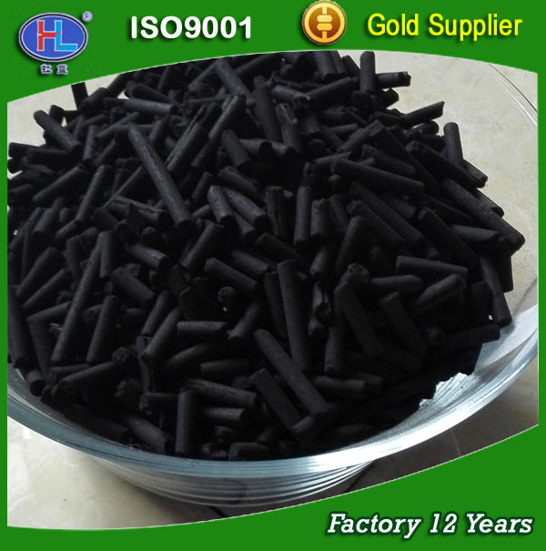Factory Price Acetone Recovery Wood Based Cylindrical Activated Carbon for Acetate Fiber Industry