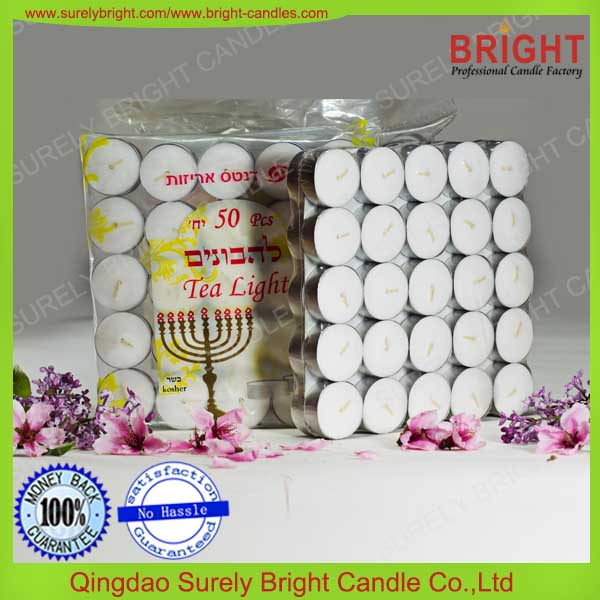 tealight candle white full auto machine produced pressed promotion heart