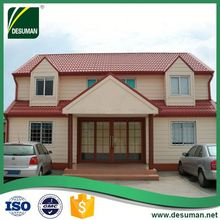 DESUMAN hot selling products SGS time and labor saving prefab villa for sale in chile