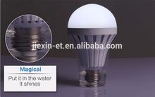 indonesia E27 3W remote control emergency led bulb light with built-in battery