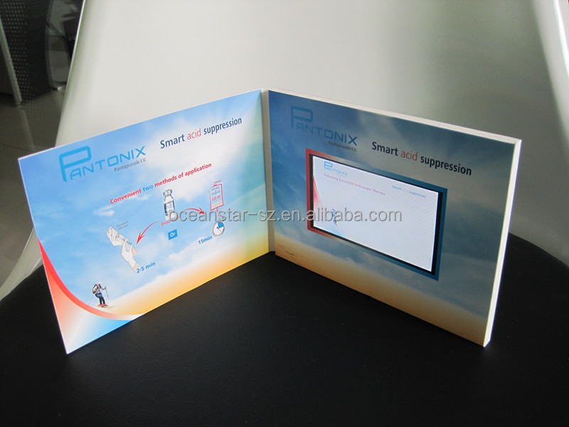 hot selling factory directly supply LCD video card, video greeting card, video greeting card module