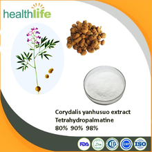 Factory supply 100% natural Tetrahydropalmatine/ corydalis yanhusuo w. t. wang extract