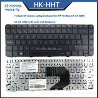 Teclado Spanish laptop keyboard for HP Pavilion G4 G4-1000 G6 CQ43 CQ57 430 630 Keyboard