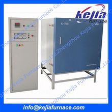 high temperature PID 50 segments programmable controller laboratory electric muffle furnace supplied by factory