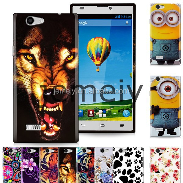 New Arrival Printed Soft TPU Gel Case for ZTE Blade <strong>L2</strong> with free shipping