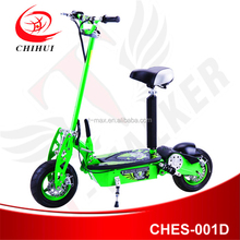 2016 two wheel CE 1000W 48V folding adult electric scooter with seat e-scooter