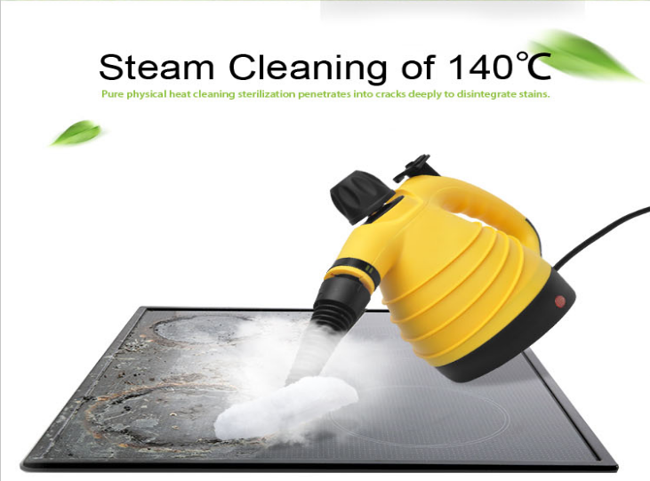 Electric Steam Cleaner with Brush Tools for Kitchen Bathroom Disinfection Cleaning Home Office