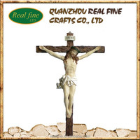 resin crucifix wall cross