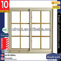 Aluminum Grid Decoration Sliding Window