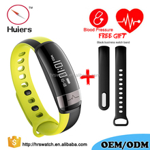 Anti-lost heart rate blood pressure sensor tracker band sleep monitor steps counter multi-function watch