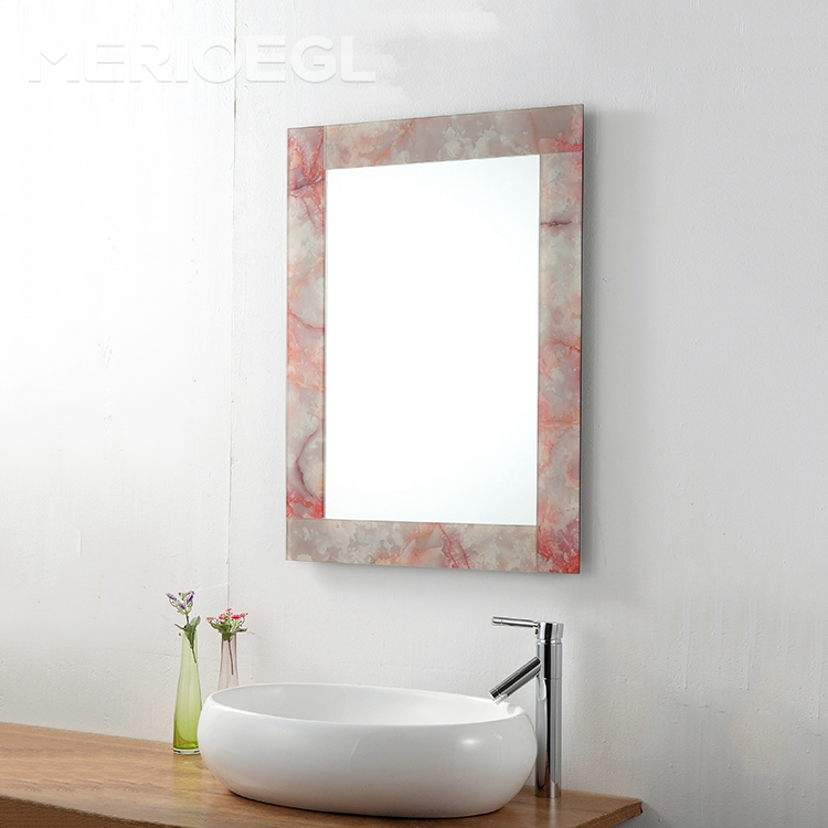 MERIOEGL Popular Decorative Wall Mirror Sets Bath Hotel Bathroom Mirrors