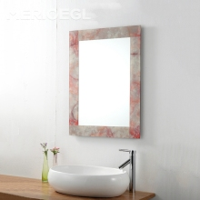 MERIOEGL Popular Decorative Wall Mirror Sets Modern Bath Mirror Hotel Bathroom Mirrors