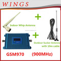 wifi repeater gsm970 blue cellphone signal repeater 2g/3g/4g signal booster With LCD 900MHz