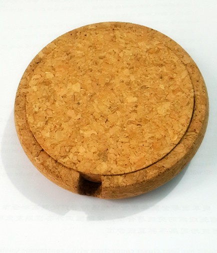 eco-friendly cork cup pad, cork pad for cups