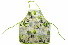 personalized good design kitchen cotton cooking kids apron