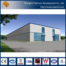 factory build large span warehouse in China