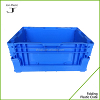 plastic vegetable foldable crate turnover box