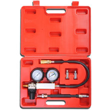 ENGINE CYLINDER LEAK DOWN COMPRESSION LEAKAGE DETECTOR TEST TESTER