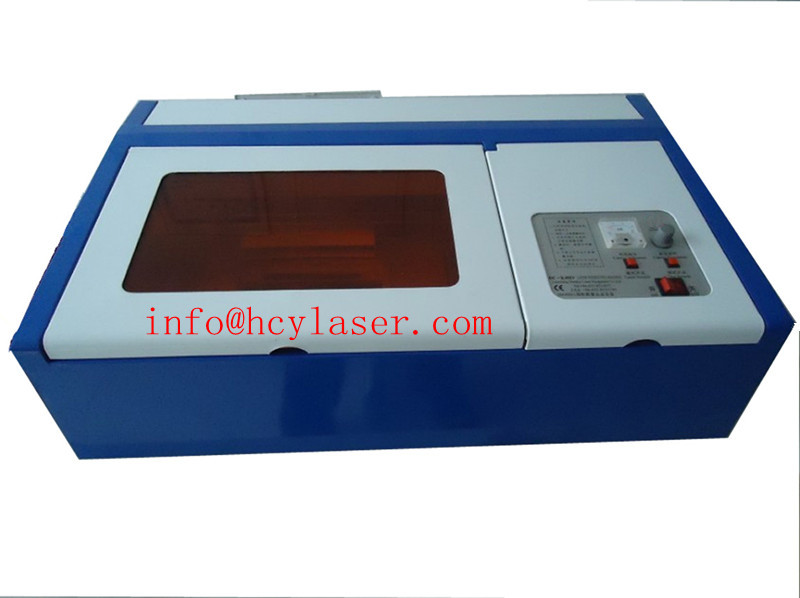 mini cheap leather crystal co2 laser cutting engraving machine