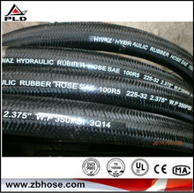 High quality high pressure high quality synthetical rubber lining fire hose