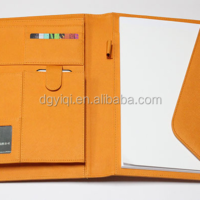 A4 Padfolio with cellular pocket/card slots