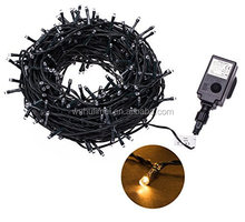 100/200/300/400/500 SELV LED String Fairy Lights Christmas Tree lights with 8 Lighting Effects for Garden