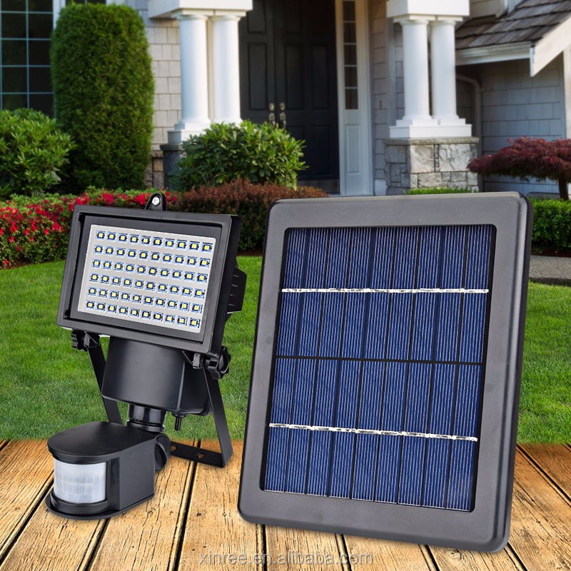 Outdoor Powered Light Control LED Solar Security Light SL-60