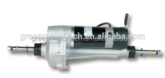 1kw-10kw dc motor 24V Dc Gear Motor Transaxle for electric mobility scooter