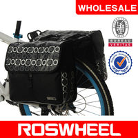 [14600] wholesale ROSWHEELu-shape PE plate bicycle double rear pannier bag bicycle accessories