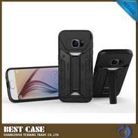 Heavy duty 2 in 1 dual layer tpu mobile phone Armor case with stand kickstand for Samsung galaxy j7 2016