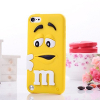New Cell Phone Soft Back Cover for iPod Touch 5,for Touch 5 Silicone Cute Case