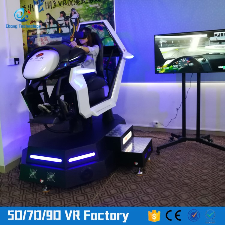 Dynamic Virtual Reality 9d Vr car racing with Speeing Race 9d Vr Simulator