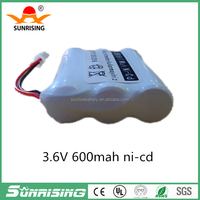 Battery for Uniden Cordless Home Phone Replacement BT905 3.6V NI-CD AA*3 600mAh