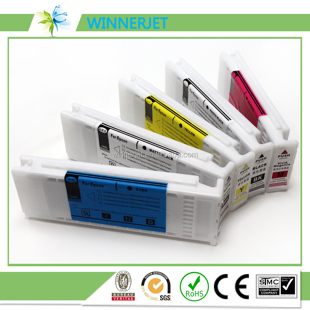 Apex chip ink cartridge compatible ink cartridge for Epson 7400 printer