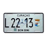 car number plate for curacao