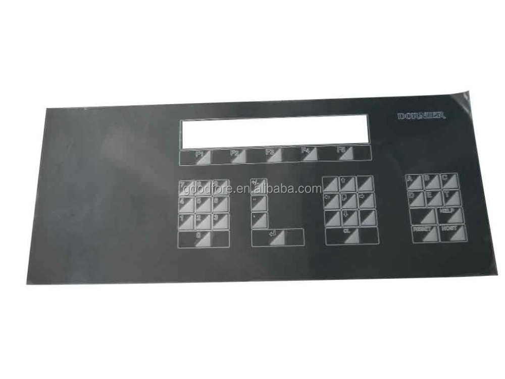 touch panel,touch panel for HTV loom,Membrane switch,