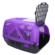 Plastic Dog Carrier Purple Dog Crate