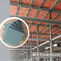wpc plastic shuttering sheet, wall panels for concrete formwork