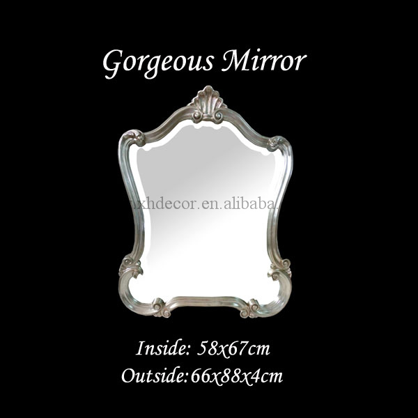 Empire style decorative mirror with urn and leaf motif decorative mirror frames