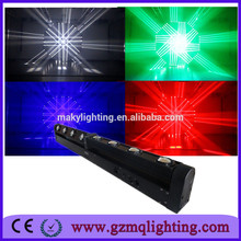 Hot Sales For Disco 8pcs double piece 10w Led Rotation Linear bar Dimming Beam Moving Head Light