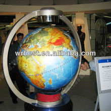 150cm big globe display in museums,magnetic levitating rotating globe,super size map globe & large/big magnetic levitation globe